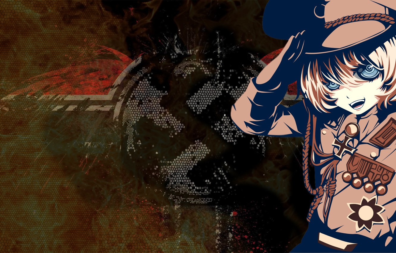 Photo wallpaper background, anime, girl, Youjo Senki