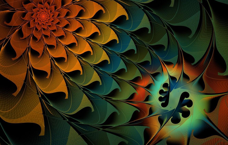 Photo wallpaper Flower, Pattern, Petals