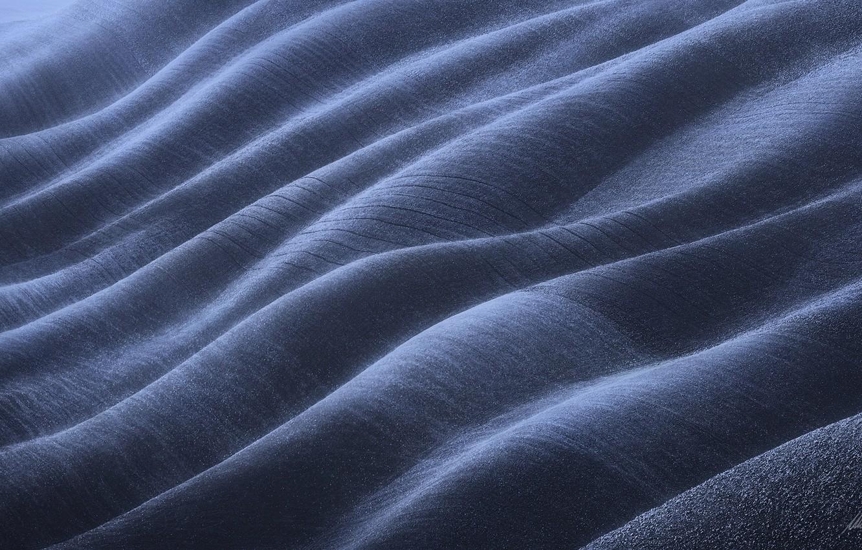 Photo wallpaper light, hills, field, texture, overflow