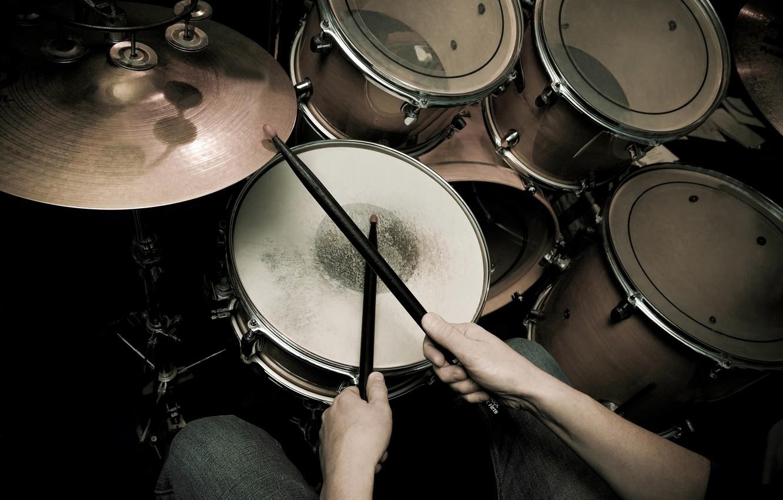 Wallpaper Blur Drums Tool Drum Installation Shock