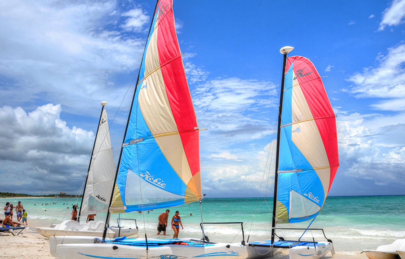 Wallpaper Sea Beach The Ocean Stay Shore Boat Vacation Yacht Mexico Sail Catamarans Images For Desktop Section Pejzazhi Download