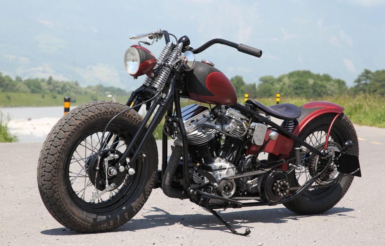 Photo wallpaper Bike, Custom, Motorbike, Motorcycle, Bobber
