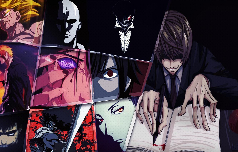 Wallpaper Apple Afro Samurai Bleach Death Note Naruto Anime