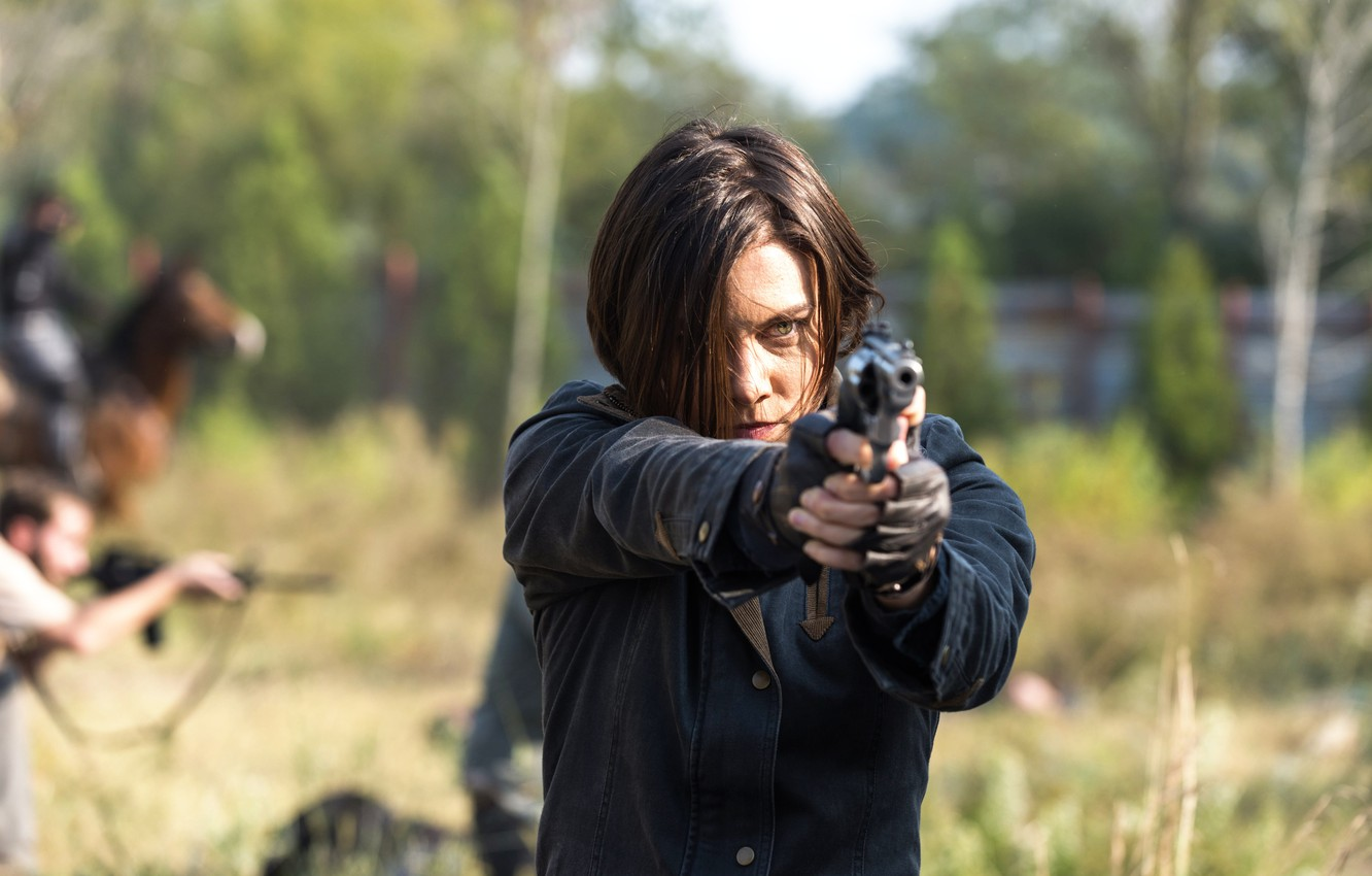 Wallpaper Season 7 The Walking Dead Walking Lauren Cohan
