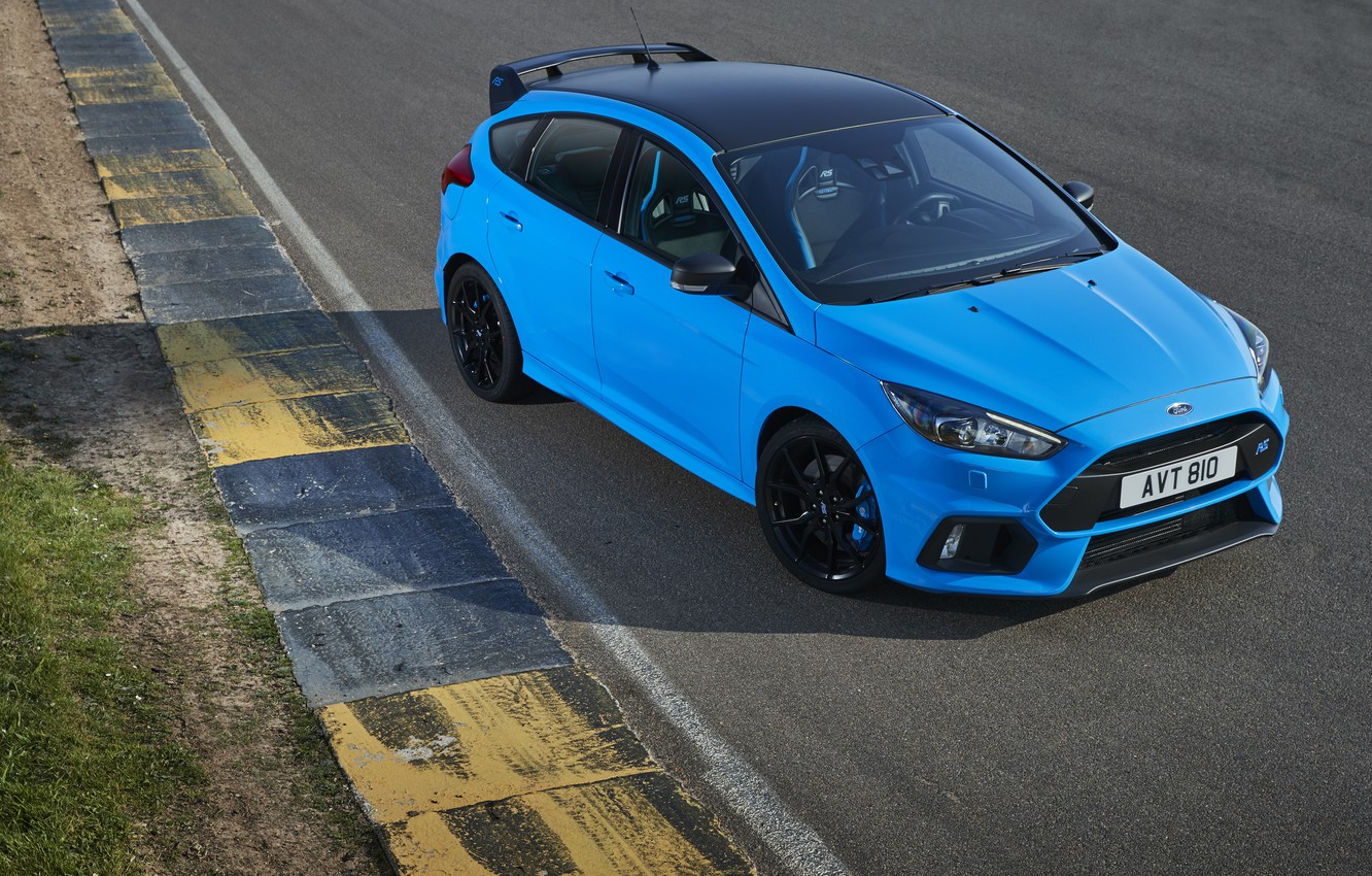 Photo wallpaper Ford, Focus, blue, with, Pack, Option