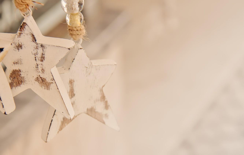 Photo wallpaper macro, background, stars
