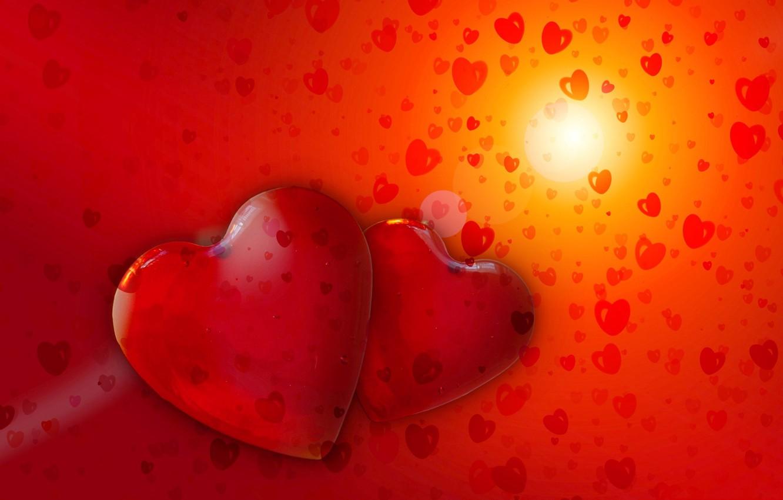 Photo wallpaper love, heart, lovers, heart, Valentine's Day