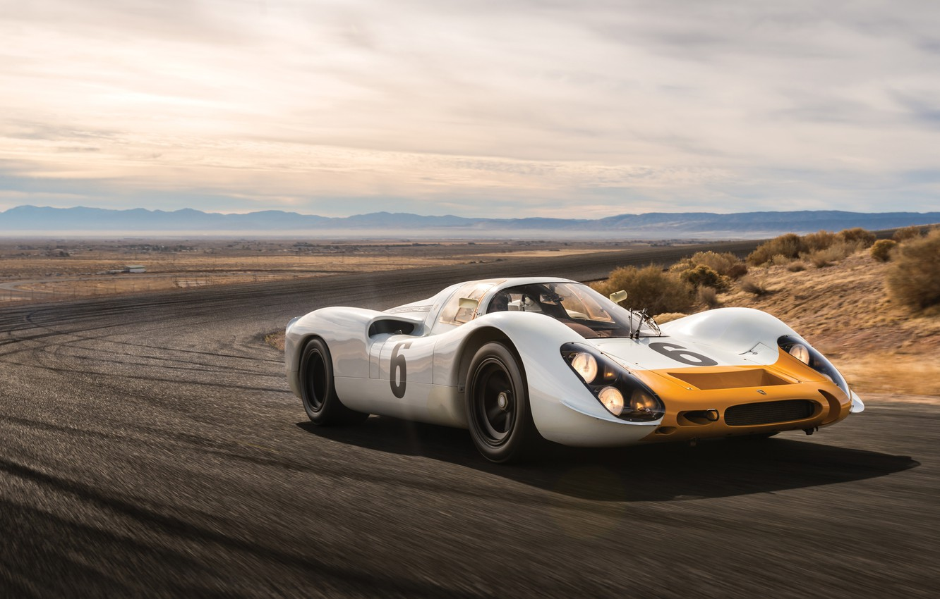 Photo wallpaper Porsche, Coupe, 908, Short tail