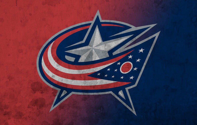 Photo wallpaper emblem, NHL, NHL, National Hockey League, hockey club, Columbus Blue Jackets, The Columbus Blue Jackets, …