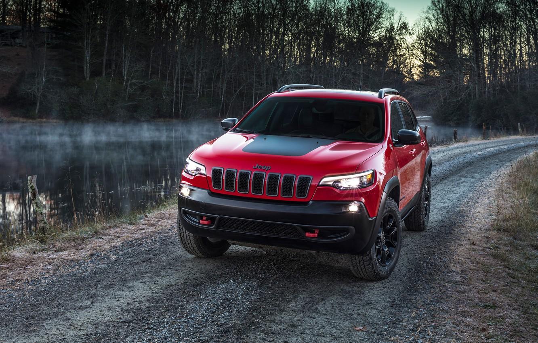 Photo wallpaper Jeep, Cherokee, Trailhawk, 2019