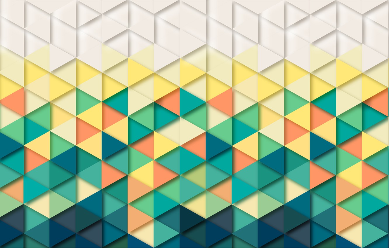 Photo wallpaper abstraction, background, triangles, Wallpaper, geometry, background