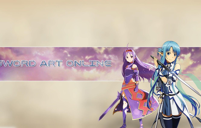 Photo wallpaper game, anime, asian, manga, japanese, Sword Art Online, oriental, asiatic, powerful, strong, sugoi, SAO, light …