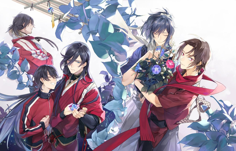 Photo wallpaper anime, art, Touken Ranbu