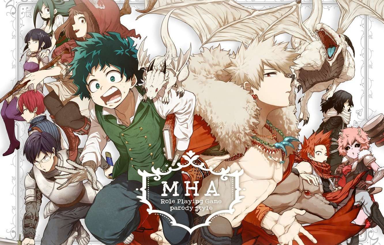 Wallpaper Anime Art Heroes Boku No Hero Academy My Hero