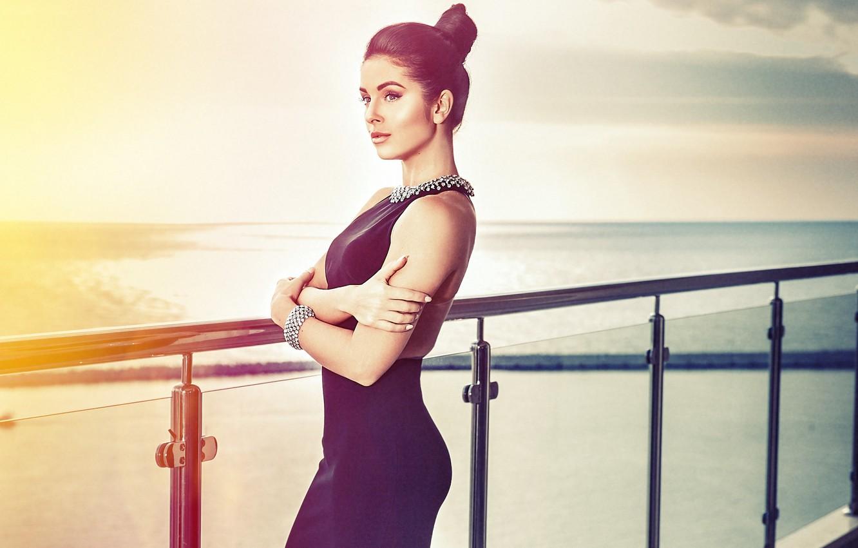 Photo wallpaper dress, singer, celebrity, Nyusha