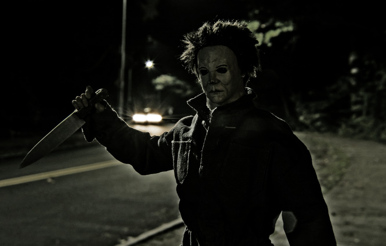 Wallpaper Toy Mask Knife Halloween Michael Myers Images