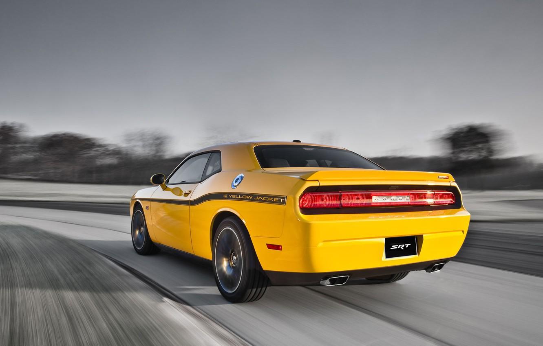 Photo wallpaper Dodge, SRT8, Challenger