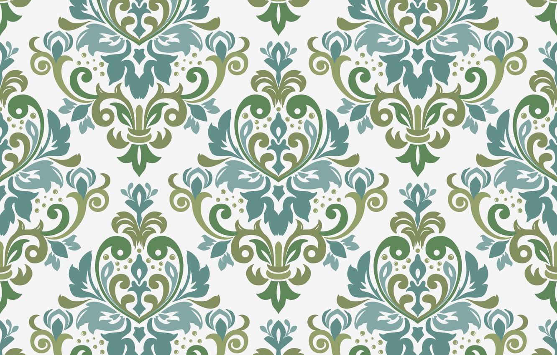 Wallpaper Vector Ornament Border Seamless Seamles Victorian