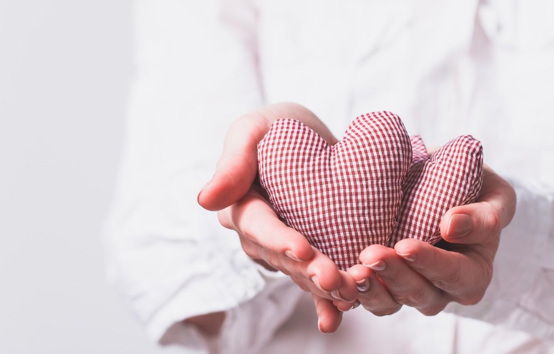 Photo wallpaper heart, love, romantic, hearts, gift