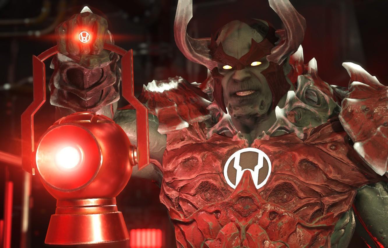 Wallpaper Red Game Rage Powerful Red Lantern