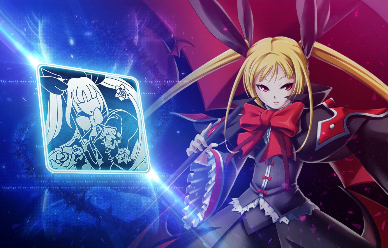 Wallpaper Game Weapon Anime Bishojo Blazblue Mahou Japonese