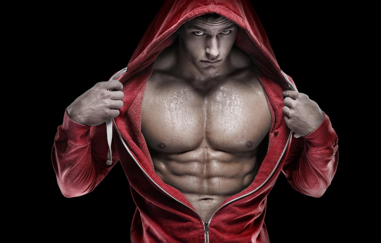Photo wallpaper hood, muscle, muscle, muscles, press, athlete, Bodybuilding, bodybuilder, abs, bodybuilder