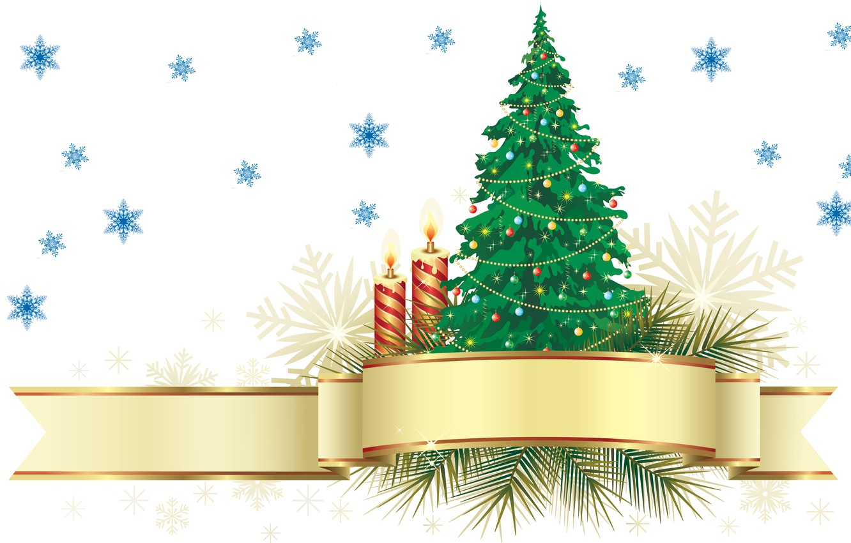 Photo wallpaper holiday, new year, vector, candles, art, herringbone, snowflake, old new year