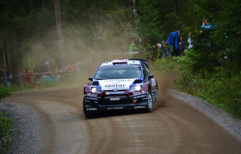 Photo wallpaper Ford, WRC, Rally, Fiesta