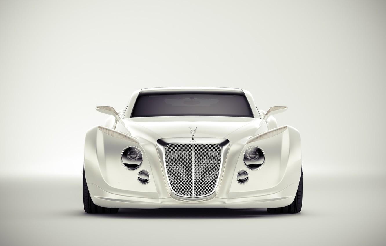 Photo wallpaper Auto, Bentley, White, Machine, Background, Art, Suite, Andreas Ezelius, Bentley Luxury Concept