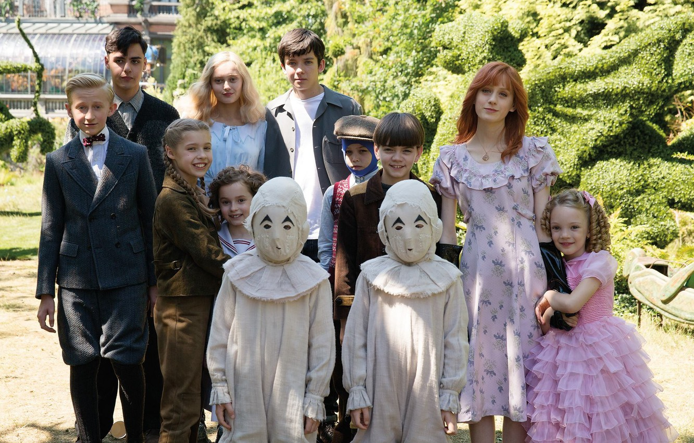 Wallpaper Cinema Movie Film Cast Kids Miss Peregrine S Home