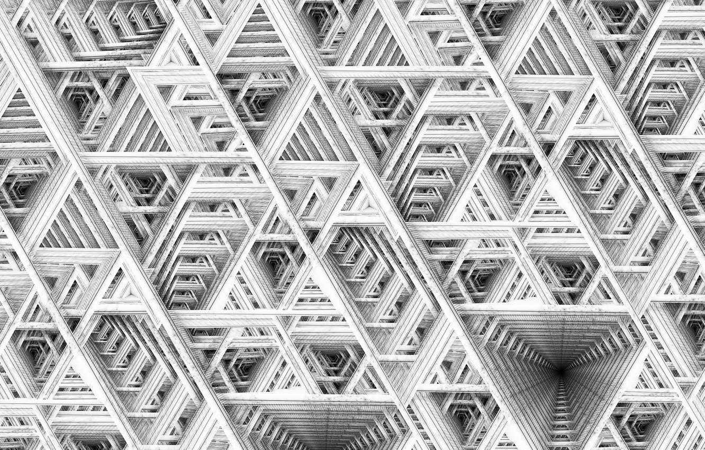 Photo wallpaper texture, art, maze, fractal, Jan Jämsén, Fractal artworks 2017