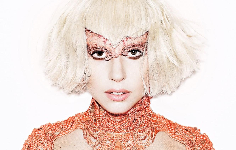 Photo wallpaper blonde, celebrity, Lady Gaga, shocking