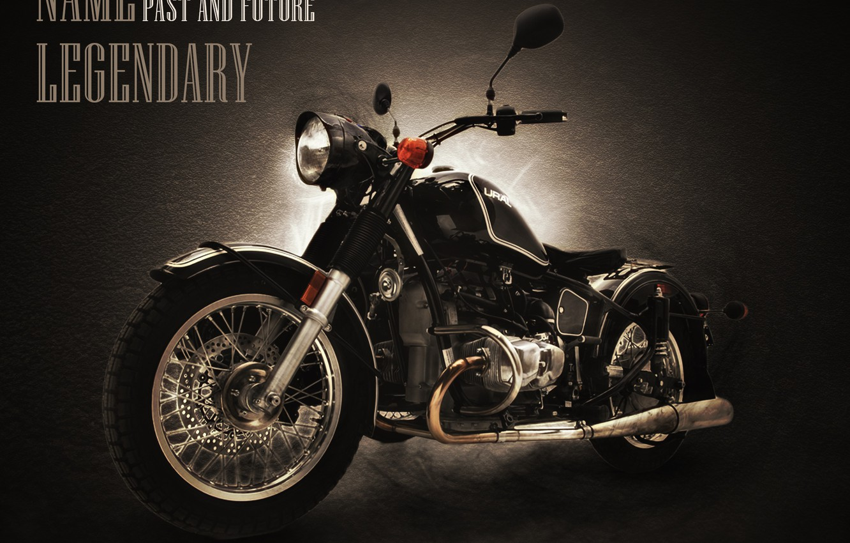 Photo wallpaper technique, Motorcycle, Motorcycles, bike., Ural motorcycle