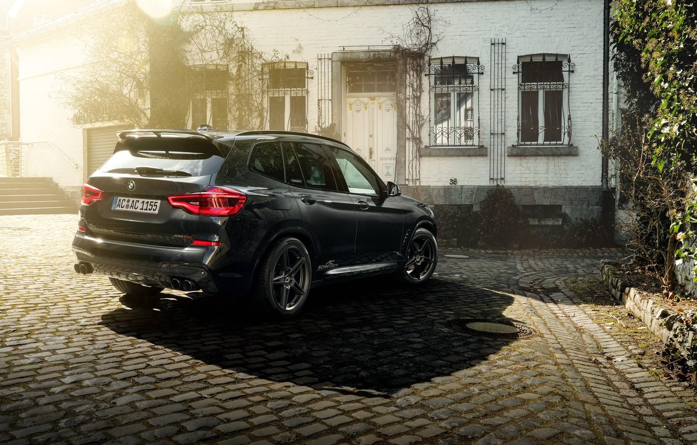 Photo wallpaper rear view, 2018, crossover, AC Schnitzer, BMW X3, ACS3