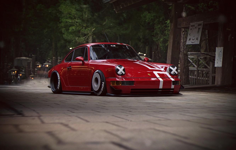 Photo wallpaper 911, Porsche, Tuning, Future, by Khyzyl Saleem