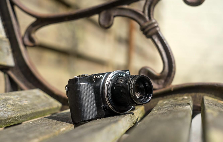 Wallpaper Camera Bench Sony Nex 3n Fujian Gds 35 35mm C Mount