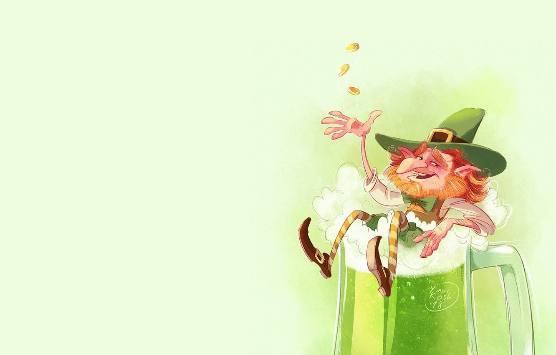 Photo wallpaper figure, art, illustration, El, leprechaun, Victoria Kosheleva