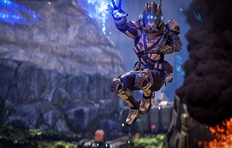 Wallpaper Game Mass Effect Man Suit Mass Effect Andromeda