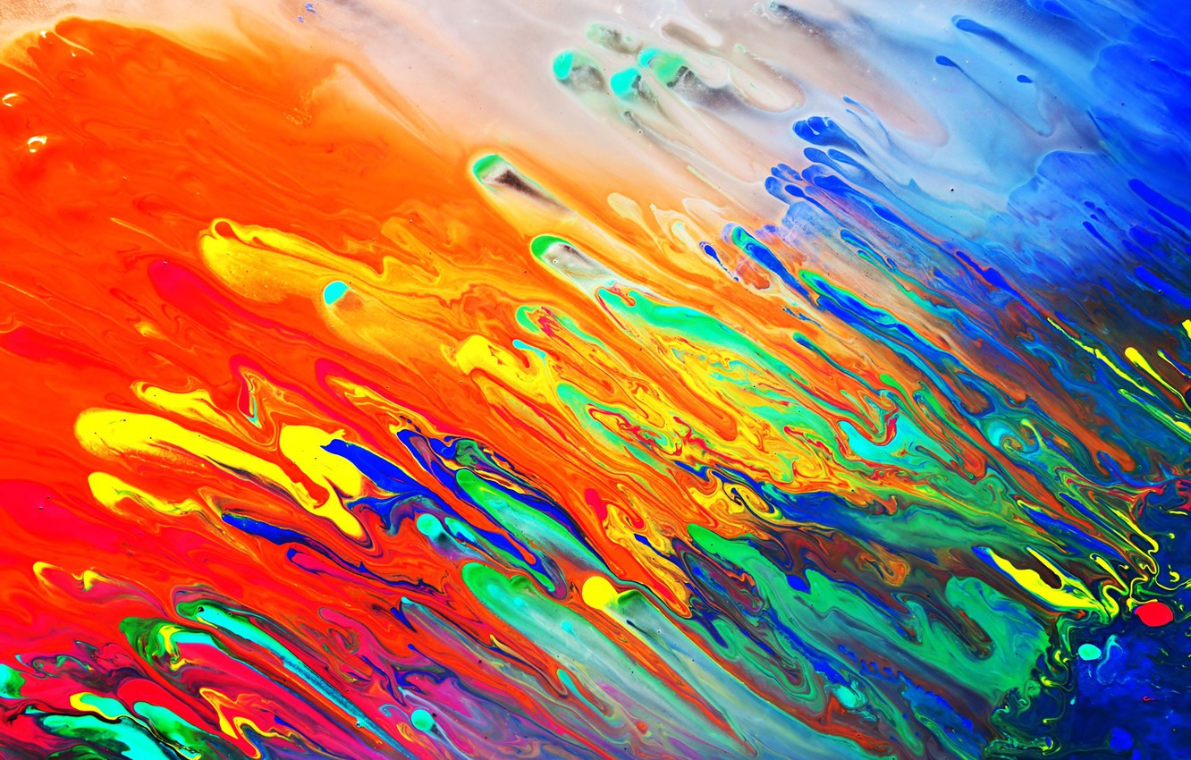 Wallpaper Colors Colorful Abstract Liquid Psychedelic