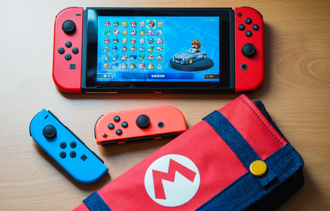 Photo wallpaper table, toy, the game, Nintendo