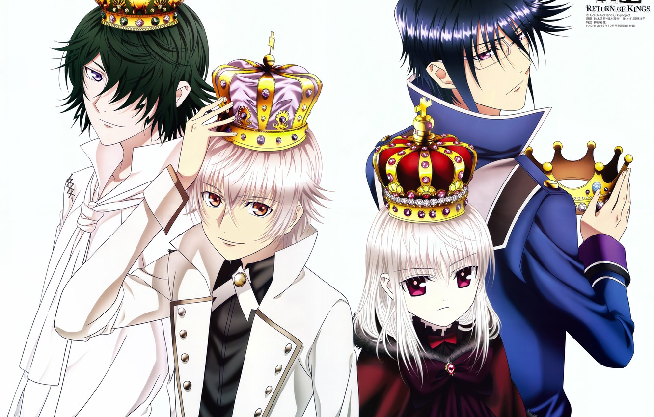 Wallpaper Anime Guys Crown K Project Kings Images For Desktop