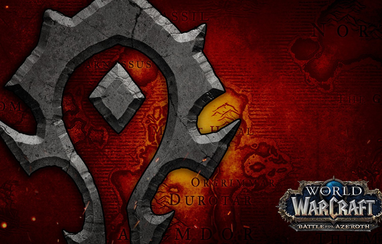 Wallpaper Blizzard Horde World Of Warcraft Battle For Azeroth