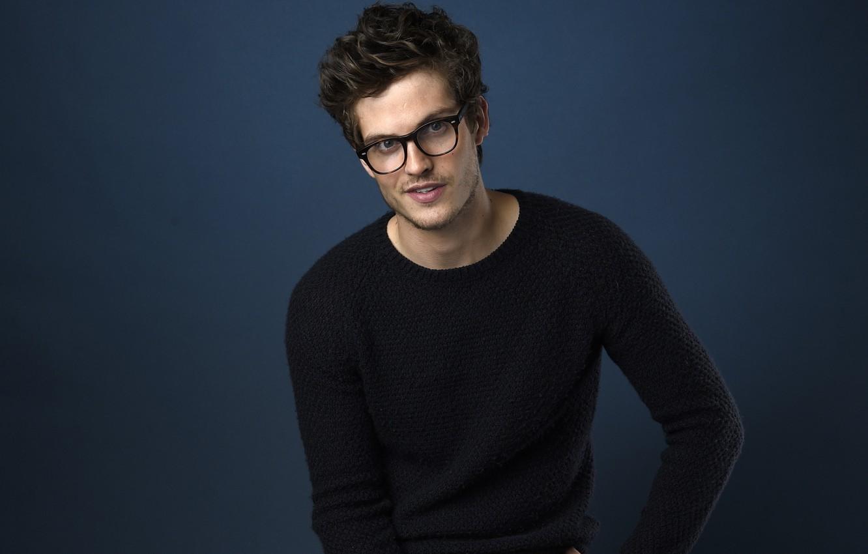 Photo wallpaper glasses, actor, Daniel Sharman