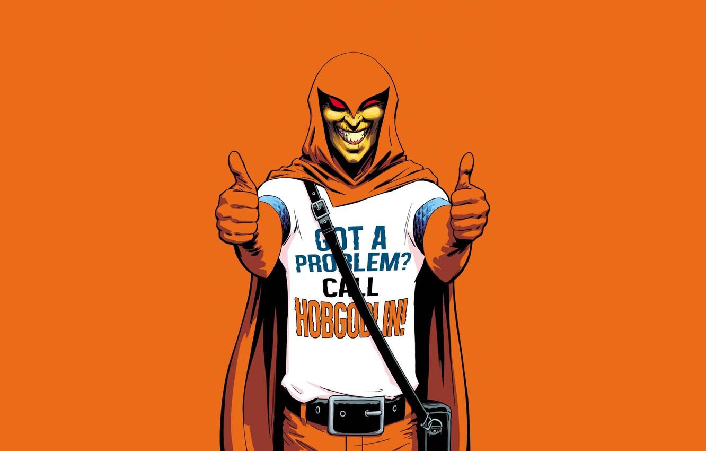 Photo wallpaper spider-man, art, villain, Marvel, comic, comics, mercenary, Hobgoblin, Hobgoblin