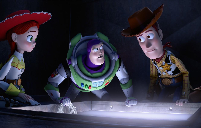 Wallpaper Jessie Buzz Lightyear Sheriff Woody Toy Story 2
