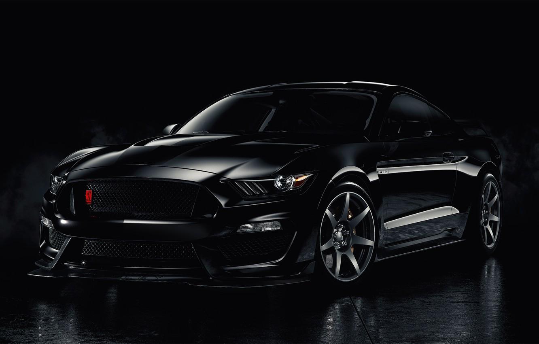 Ford Mustang Black Wallpaper