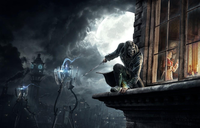 Photo wallpaper The game, Game, Dishonored, Arkane Studios