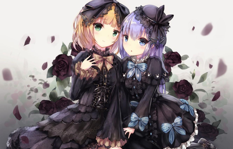 Wallpaper Anime Roses Girls Gochuumon Wa Usagi Desu Ka Images