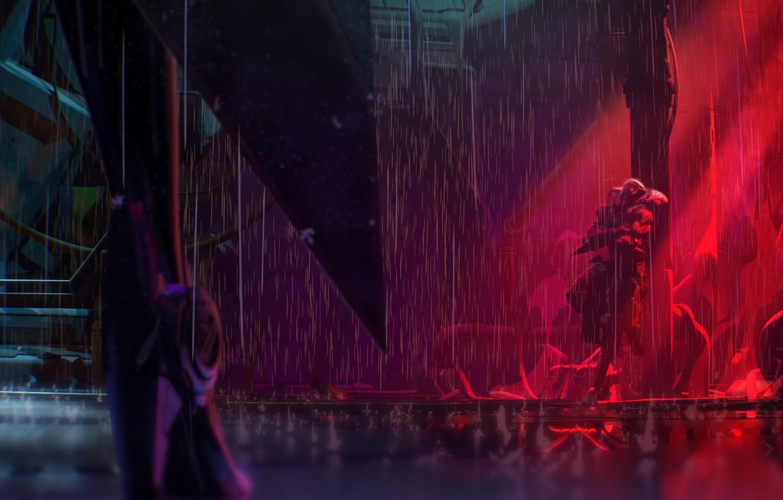 Wallpaper Vayne Jhin Project League Of Legends Hunt Images For