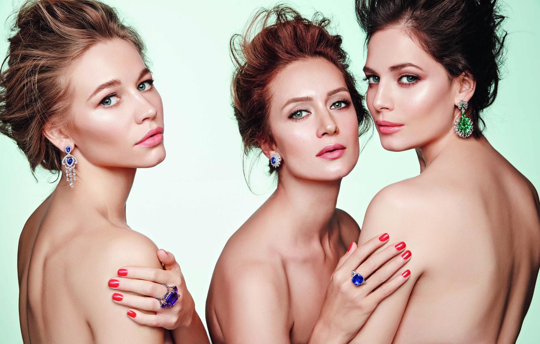 Photo wallpaper look, actress, Yuliya Snigir, Victoria Isakova, Svetlana Ustinova